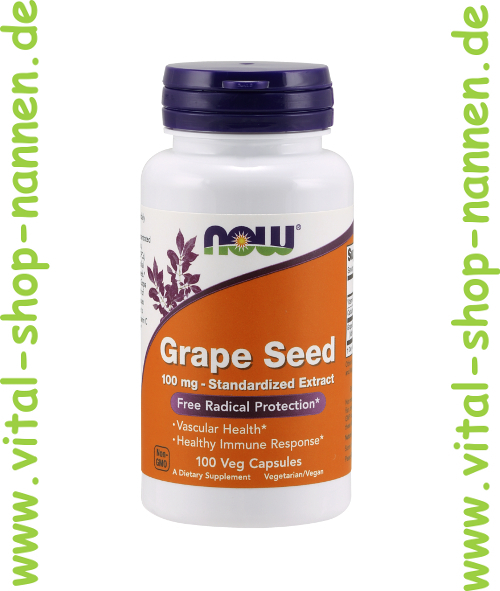 Grape Seed 100 Mg Standardized Extract 100 Vcaps