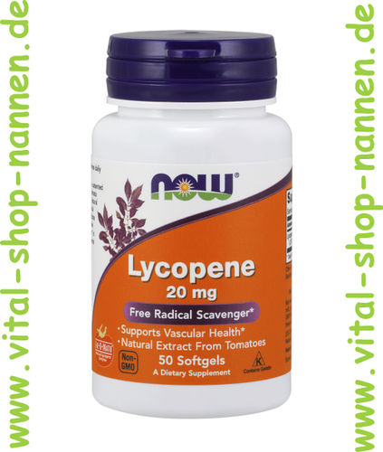 Lycopen 20 mg 50 Softgels