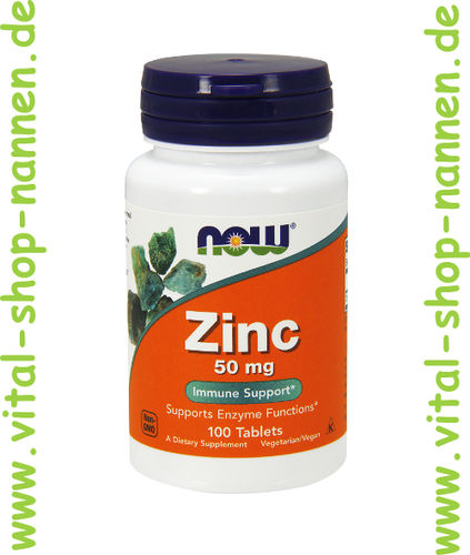 Zink 50 mg 100 Tabletten