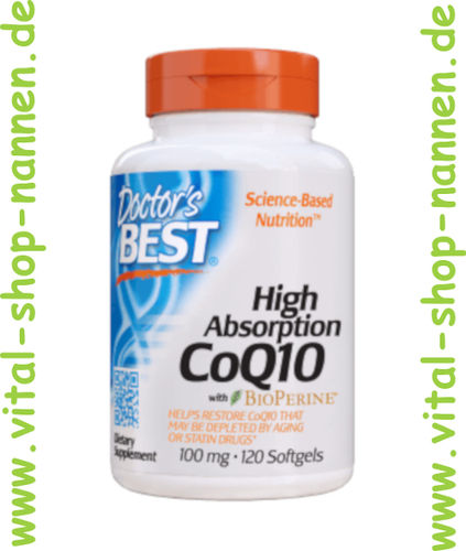 CoQ10 100 mg,120 Softgels